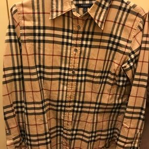 Burberry women's button down